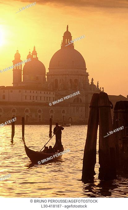 Santa Maria della Salute, Venice. Veneto, Italy