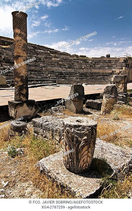 Teatro romano. Segóbriga. Cuenca - Castilla-La Mancha. Spain