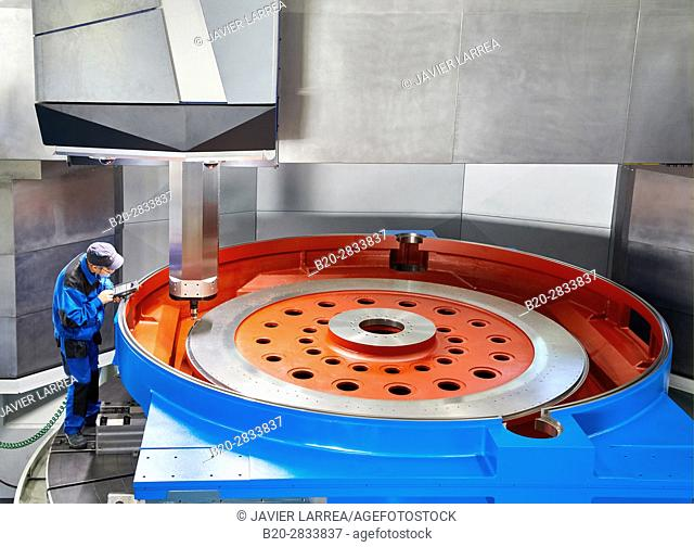Machining Centre, CNC, Vertical lathe, Design, manufacture and installation of machine tools, Gipuzkoa, Basque Country, Spain