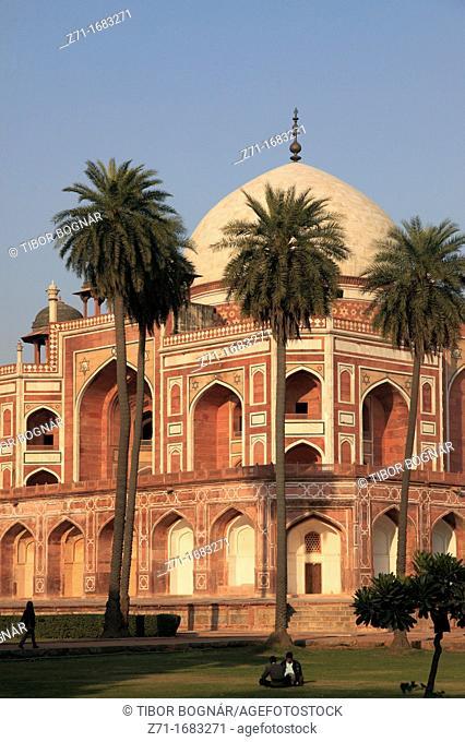 India, Delhi, Humayun's Tomb