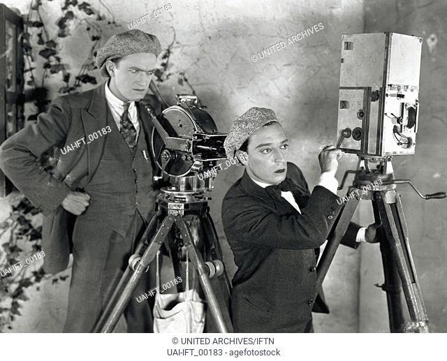 The Cameraman, USA 1928, aka: Buster, der Filmreporter, Regie: Edward Sedgwick, Darsteller: Buster Keaton, Harold Goodwin