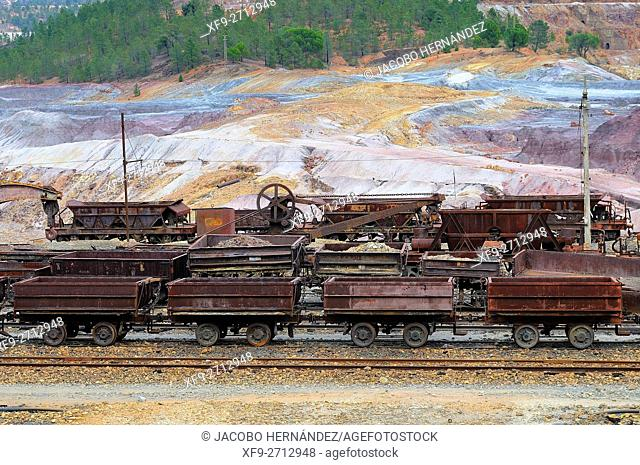 Old raiway.Riotinto Mines.Huelva province.Andalusia.Spain