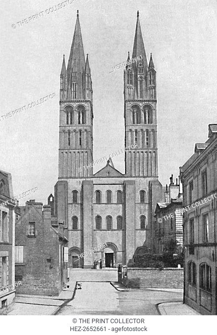 'Church of St. Stephen (Abbaye Aux Hommes), Caen.', 1902. From Social England, edited by H.D. Traill, D.C.L. and J. S. Mann, M.A