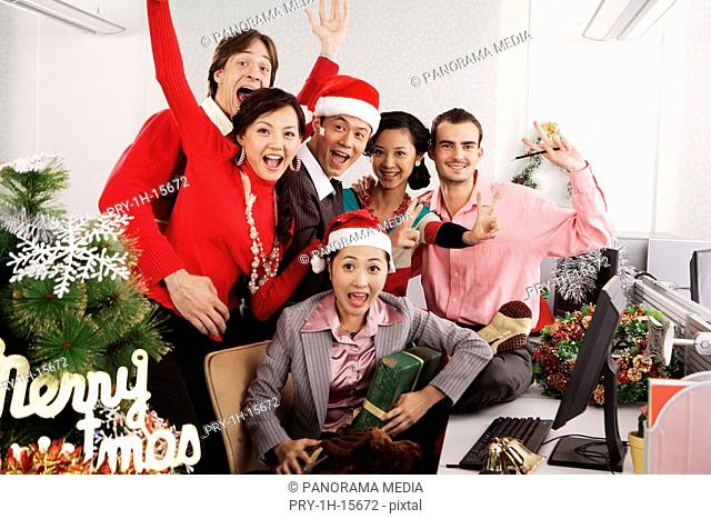 Merry Christmas at office