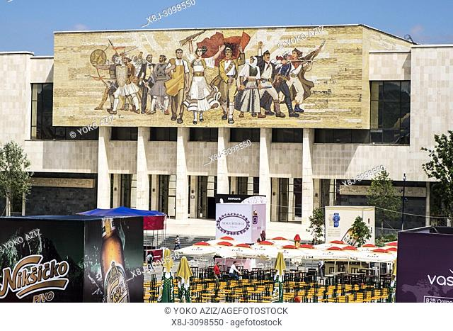 Albania, Tirana, National History Museum