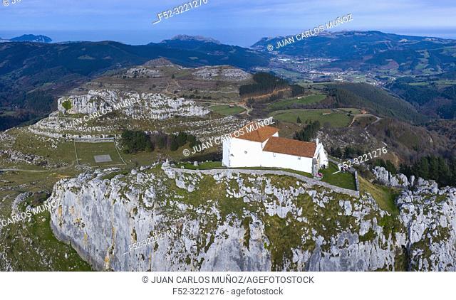 Ermita de las Nieves, Guriezo Municpality, Cantabria, Spain, Europe