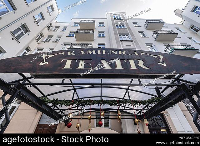 Kamienica Theater - private dramatic theater in Warsaw, Poland