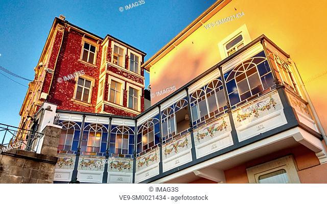 Porto old town, the Ribeira Quarter, Portugal