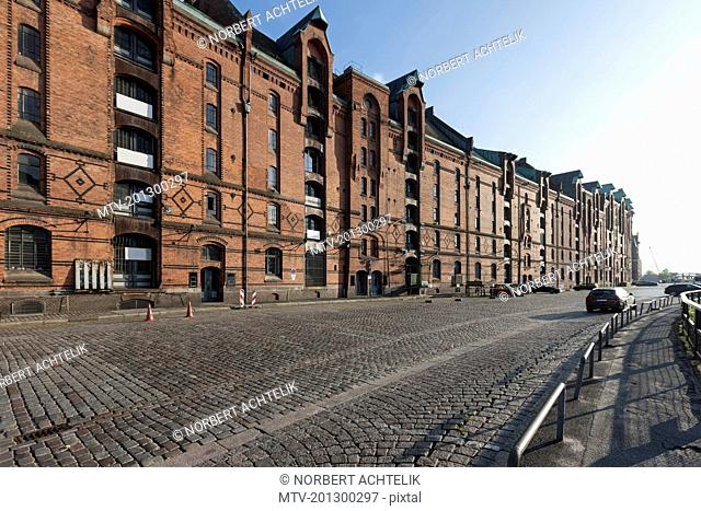 Warehouses at Speicherstadt, Hamburg, Germany