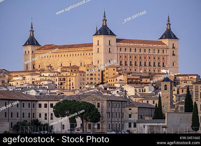 alcázar de Toledo, - castillo de San Servando, -, Toledo, Castilla-La Mancha, Spain