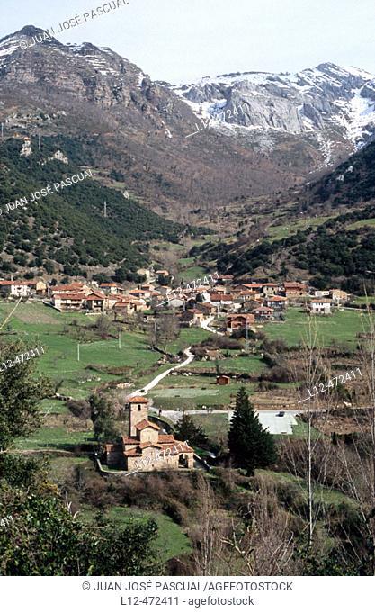 Lebeña, Liébana valley. Cantabria, Spain