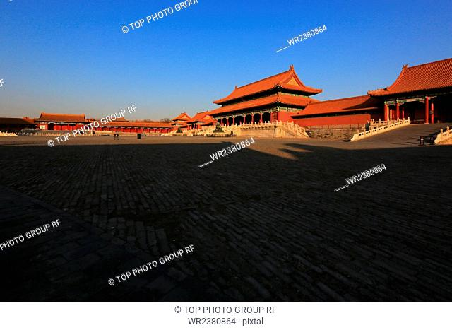 Beijing Forbidden City The Gate of Supreme Harmony