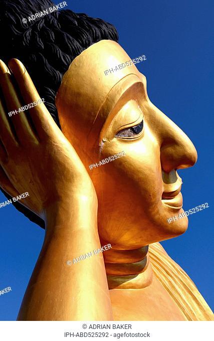 Thailand Phuket Thalang Wat Srisoonthorn 29m long reclining Buddha