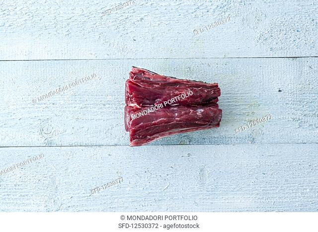 Tuna meat from the tail (calcagnolo)