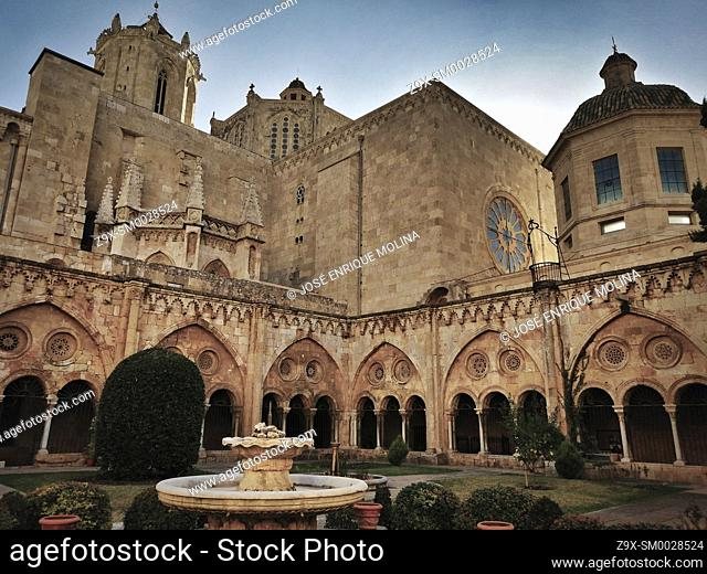 Tarragona Cathedral, Catalonia, Spain, Europe