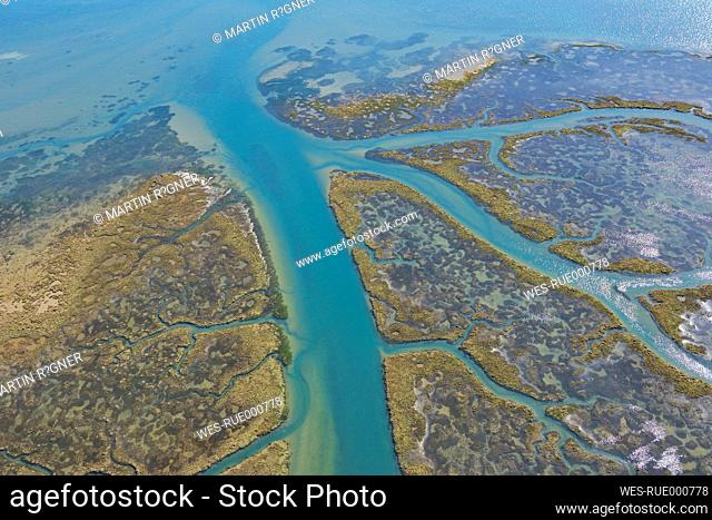Spain, Andalusia, View of marshland