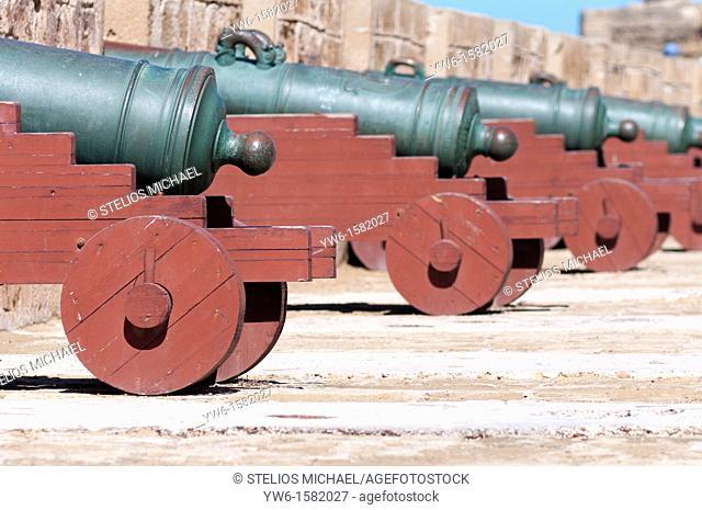 Cannons,Essouira,Morocco