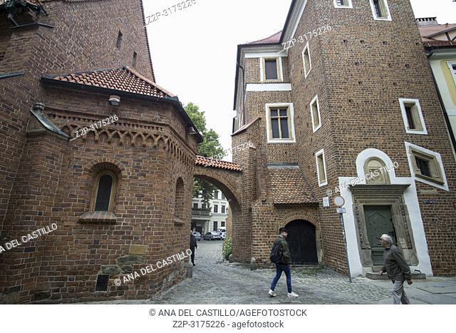 St Giles church Tum island in Wroclaw, Poland