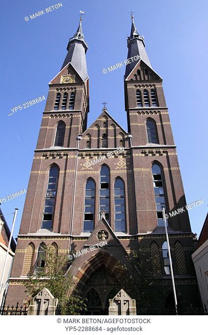 Posthoornkerk Church Haarlemmerstraat Amsterdam Holland