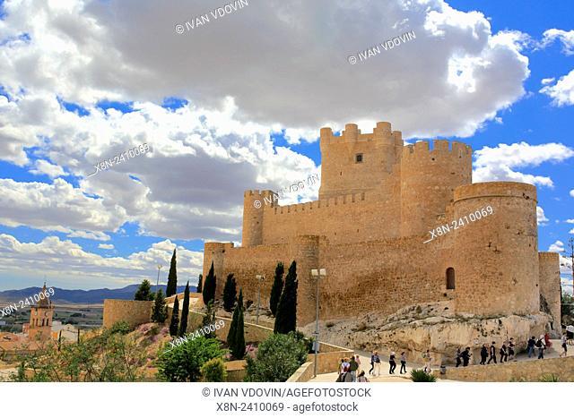 Atalaya Castle (Castillo de la Atalaya), Villena, Valencian Community, Spain
