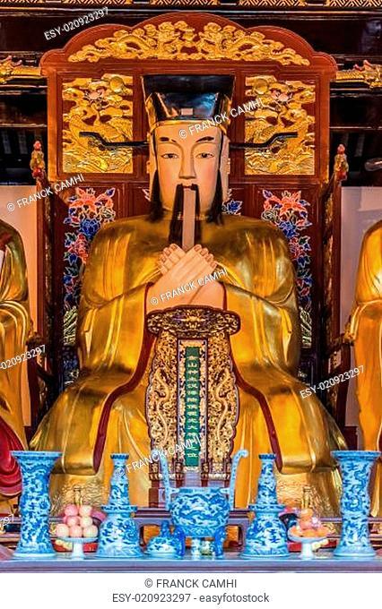 city god temple Chenghuang Miao shanghai china