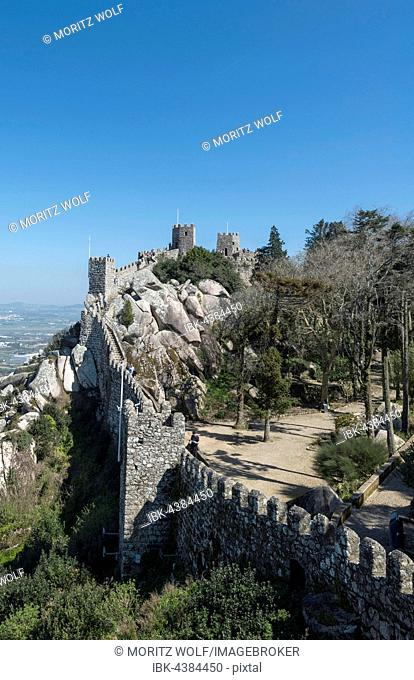 Castelo dos Mouros, Castle of the Moors, Sintra, Portugal