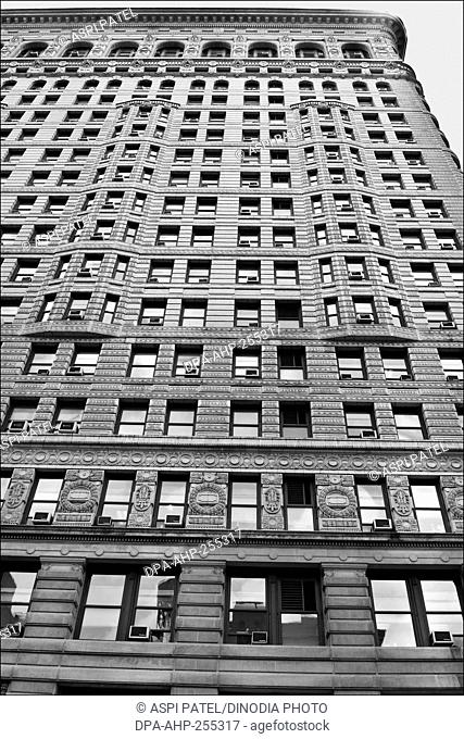 flatiron building, manhattan, new york, usa