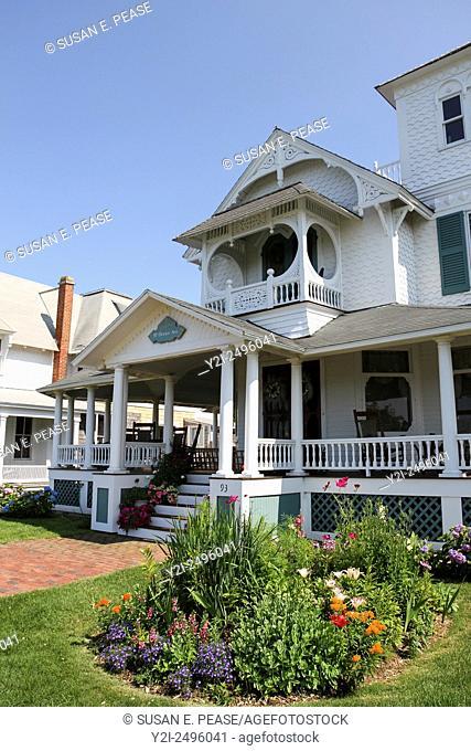 A home in Ocean Park, Oak Bluffs, Martha's Vineyard, Massachusetts, United States