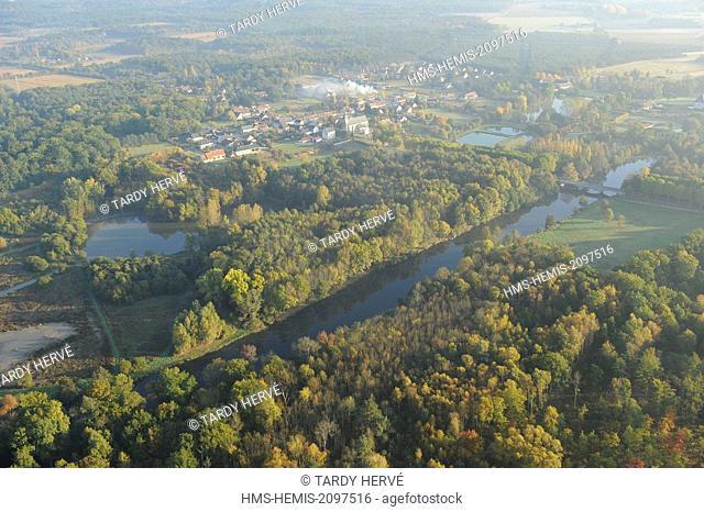 France, Loir et Cher, Villeherviers (aerial view)