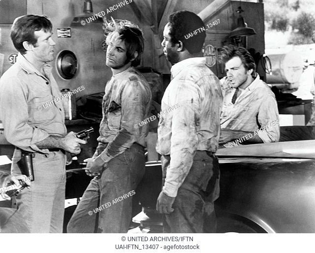 The Devil's 8, aka: Die teuflischen Acht, USA 1969, Regie: Burt Topper, Darsteller: Christopher George, -?-, Robert DoQui, Fabian