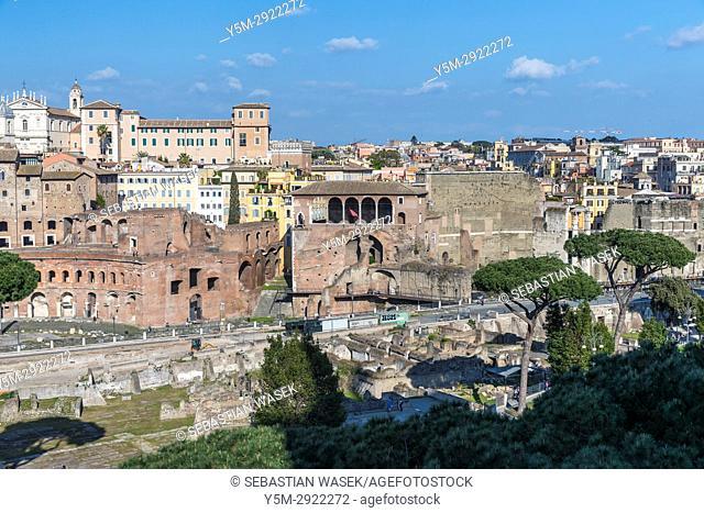 Forum of Caesar, Rome, Lazio, Italy, Europe