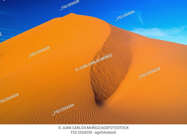 Namibia, Namib Naukluft National Park, Sand dune in desert
