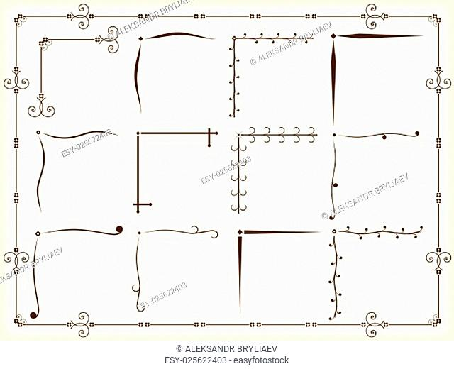 Corner Design Elements