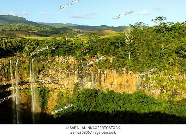 Alexandra Falls, Black River Gorges National Park, Mauritius, Indian Ocean, Africa
