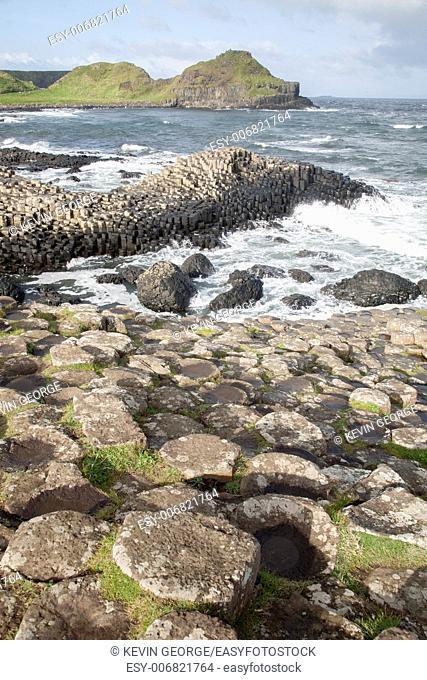 Giants Causeway, County; Antrim; Northern Ireland