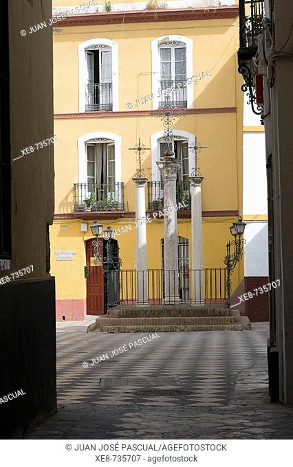 Plaza de las Cruces, Santa Cruz district, Sevilla. Andalucia, Spain