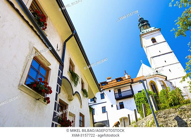 Parish Church of Saint James. Skofja Loka. Upper Carniola region. Slovenia, Europe