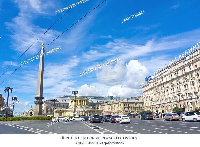 Ploschad Vosstaniya, Saint Petersburg, Russia