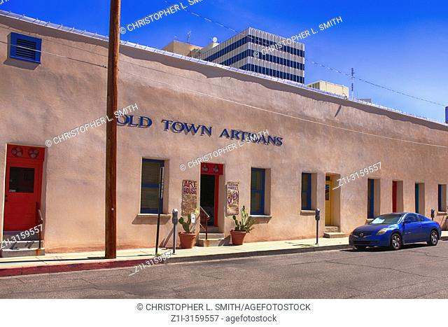 Old Town Artisans on N Mayer Ave in downtown Tucson, AZ