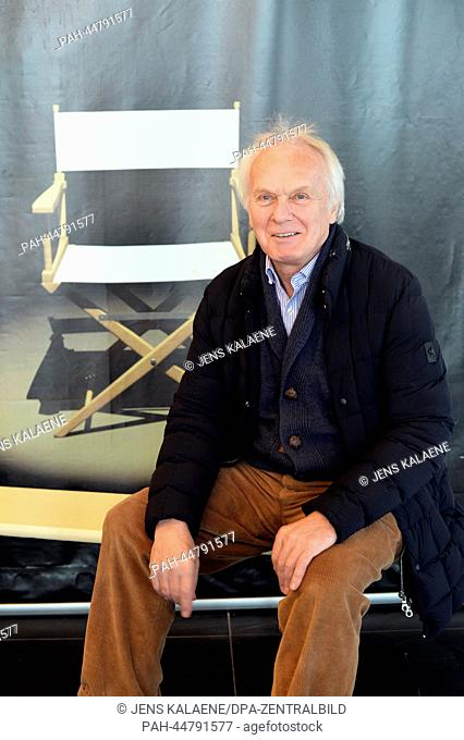 The Slovakian film producer Jan Mojto poses at the filmset 'Alatriste' in Budapest, Hungary, 11 December 2013. The 15 episodes are produced after the bestseller...