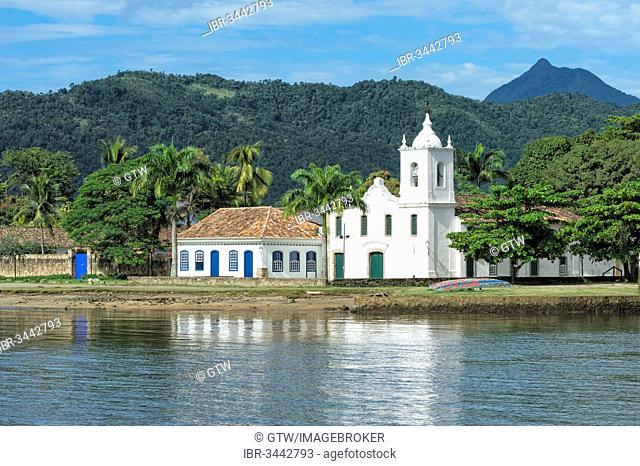 Capela de Nossa Senhora das Dores chapel, Paraty, Rio de Janeiro State, Brazil