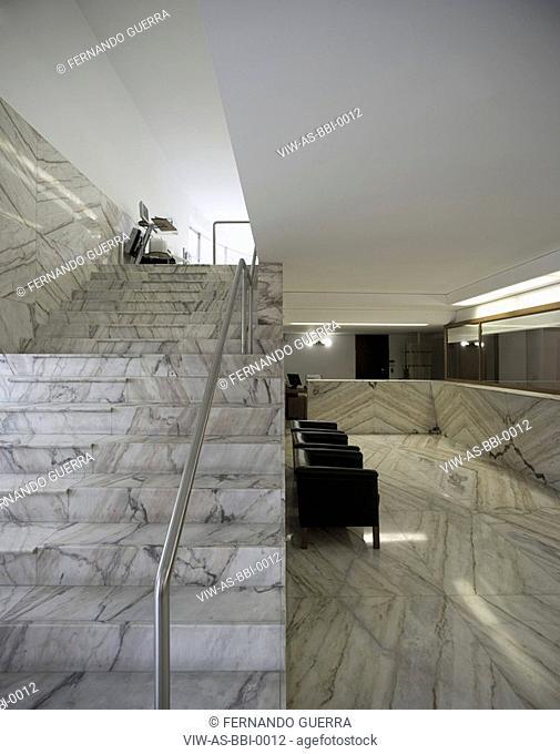 BORGES & IRMAO BANK, VILA DO CONDE, PORTUGAL, Architect ALVARO SIZA, 1986