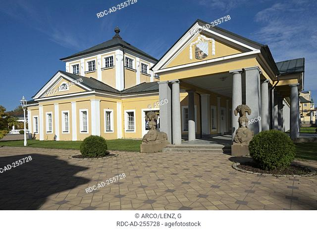 Health spa Frantiskovy Lazne Cheb District region of Karlovy Vary Czech Republic Lazenska domy kurhaus