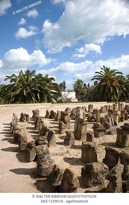Tunisia, Tunis, Carthage, remnants of Punic Naval Port