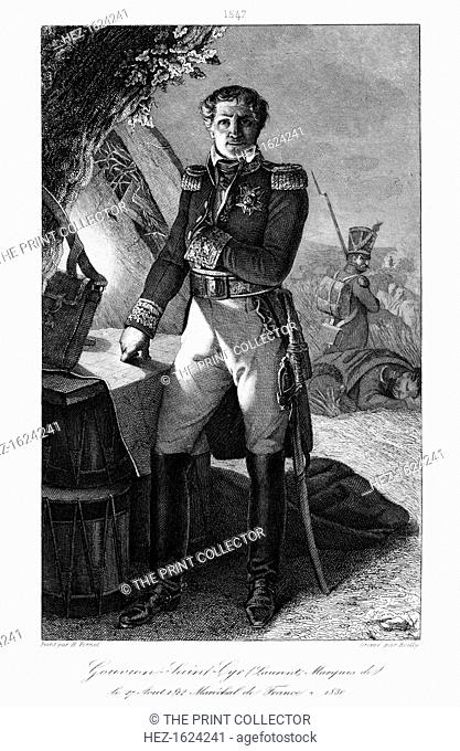 Laurent Gouvion Saint-Cyr (1764-1830), Marshal of France, 1839. Saint-Cyr was a commander in the French Revolutionary and Napoleonic Wars who rose to Marshal of...
