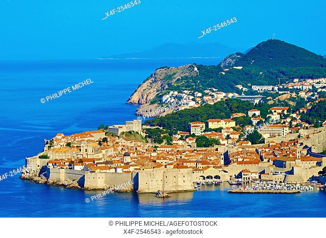 Croatia, Dalmatia, Dubrovnik, historical centre, Unesco World Heritage site, old town