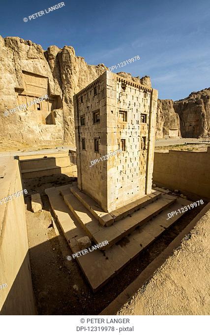Kabeh-e-Zarthusht (Cube of Zoroaster), Naqsh-e Rustam; Fars Province, Iran