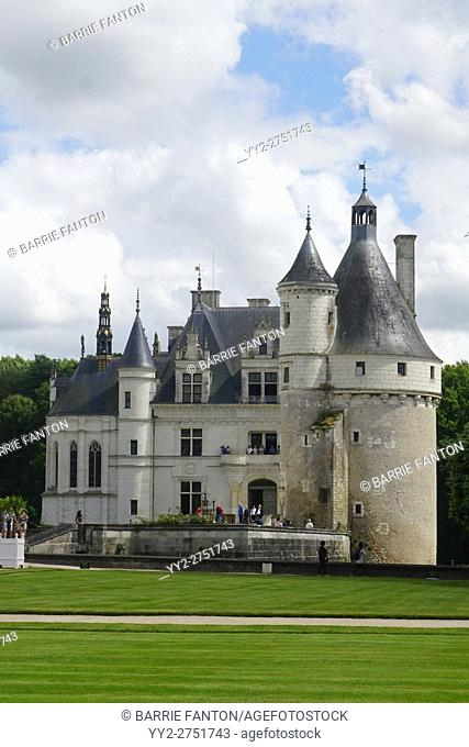 Chateau Chenonceau and Surrounding Grounds, France