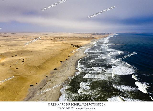 Coast near Henties Bay, Henties Bay, Namibia