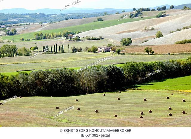 Fields in Tuscany, Italy|